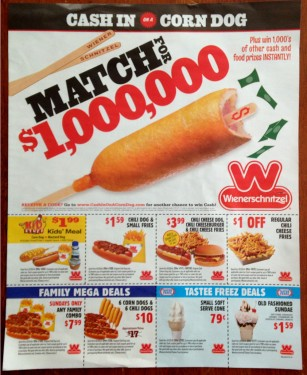Wienerschnitzel Corn Dog