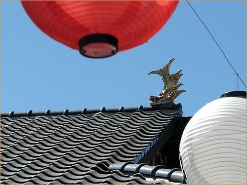 Little Tokyo, Gold Grampus and Bon Festival Lantern