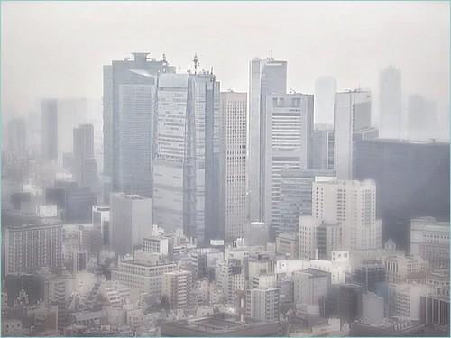 Haze of spring