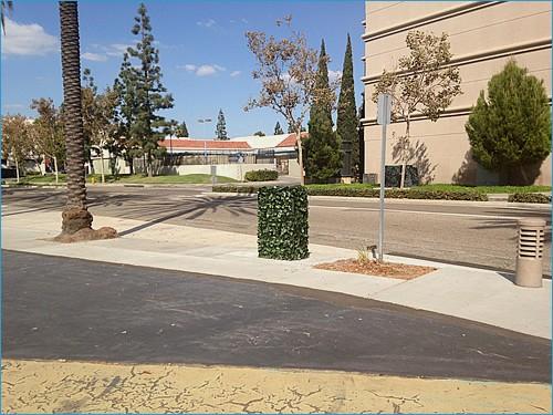 Green town Anaheim California.