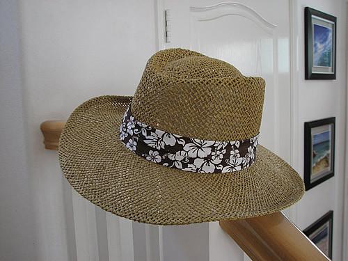 ウォルマートで買ったメッシュの帽子