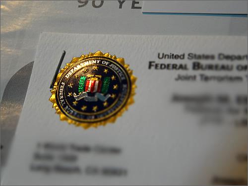 FBIが家にやって来た?