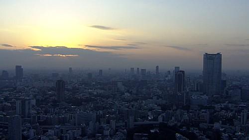 【都会の風景】東京タワーの夕景