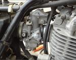 1980年型 ヤマハSR400 SR500 キャブレーター ニードルバルブ 修理と交換