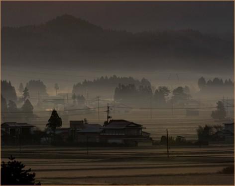 田舎暮らしと田園風景