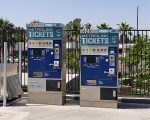 Amtrak Tickets Machine in Anaheim station