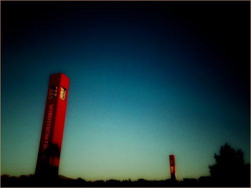 南カリフォルニア タスティン iPhoneで撮る夕映えの景色