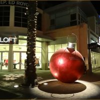 Brea Downtown Huge Christmas ornament