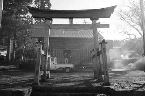 Japanese Traditional Wedding in small Village / Shrine Otari-mura Nagano