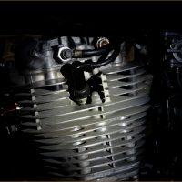 ヤマハ SR400 SR500 単気筒エンジン印象フォト