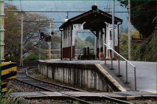 田舎暮らし・風情のある駅
